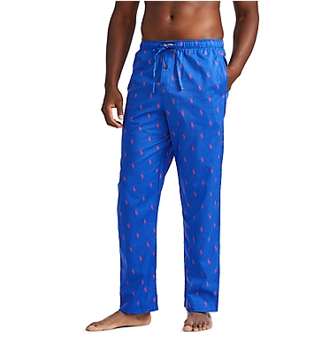 Polo Ralph Lauren Pony Player 100% Cotton Woven Pajama Pant