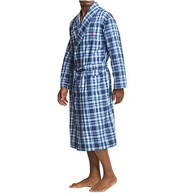 Polo Ralph Lauren Birdseye 100% Cotton Woven Robe