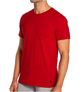 Polo Ralph Lauren Classic Fit Cotton Crew Neck T-Shirts - 3 Pack