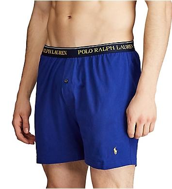 Polo Ralph Lauren Classic Fit Cotton Knit Boxers - 3 Pack