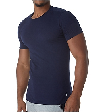Polo Ralph Lauren Slim Fit 100% Cotton Crew T-Shirts - 3 Pack