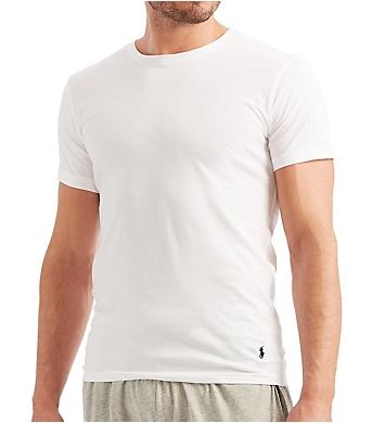 Polo Ralph Lauren Slim Fit 100% Cotton Crew T-Shirts - 5 Pack