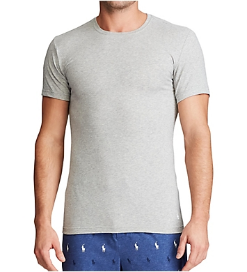Polo Ralph Lauren Stretch Slim Fit Crew Neck T-Shirts - 3 Pack
