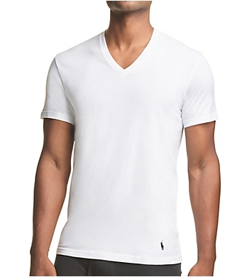 Polo Ralph Lauren Tall Man Stretch V-Neck T-Shirts - 3 Pack