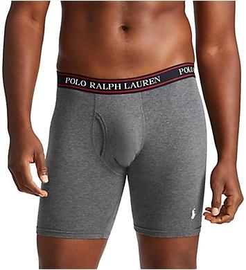Polo Ralph Lauren Big & Tall Classic Fit Boxer Briefs - 3 Pack