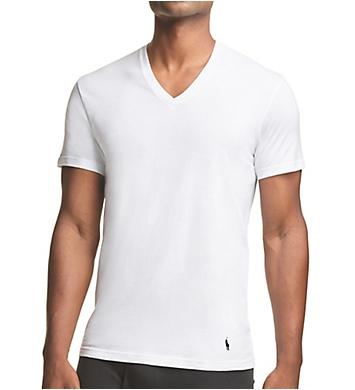 Polo Ralph Lauren Big Man Stretch V-Neck T-Shirts - 3 Pack
