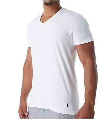 Polo Ralph Lauren Big Man Classic Fit 100% Cotton V-Necks - 2 Pack