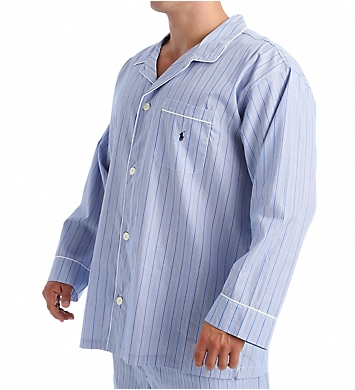 Polo Ralph Lauren Big Man Woven Cotton Long Sleeve Pajama Top