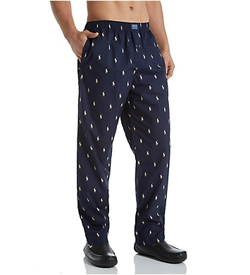 Polo Ralph Lauren Tall Man Printed Polo Woven Pajama Pant