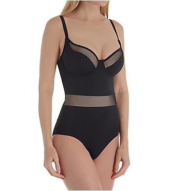 68aa741c2d4b3 Pour Moi Glamazonia Underwire One Piece Swimsuit 12807 - Pour Moi ...