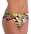 Orchid Luxe Fold Over Brief Swim Bottom