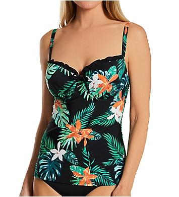 Pour Moi Miami Brights Underwire Padded Tankini Swim Top