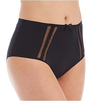 Pour Moi Shadow High Leg Deep Brief Panty