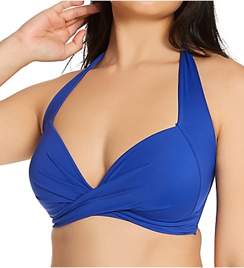 Pour Moi Soleil Twist Front Lightly Padded Swim Top
