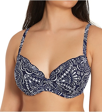 Pour Moi Hot Spots Lightly Padded Underwire Swim Top