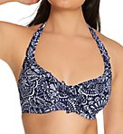 Hot Spots Halter Underwire Bikini Swim Top