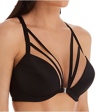 Pour Moi Contradiction Strapped Front Close T-Shirt Bra