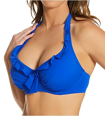Pour Moi Splash Halter Underwire Swim Top