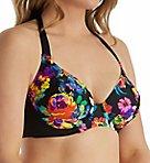 Black Dahlia Underwire Halter Bikini Swim Top