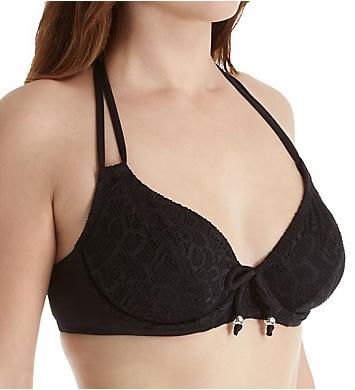 Pour Moi Puerto Rico Underwire Halter Bikini Swim Top