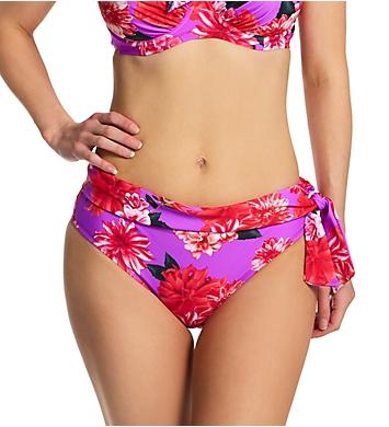 Pour Moi Getaway Fold Over Tie Brief Swim Bottom