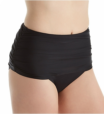 Pour Moi Instaglam Control High Waist Brief Swim Bottom