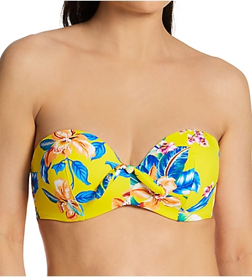 Pour Moi Heatwave Strapless Lightly Padded Swim Top