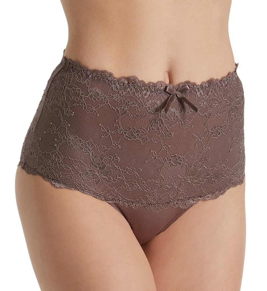 Pour Moi - Pour Moi 9906 Cherish High Waist Brief Panty (Mink XS)