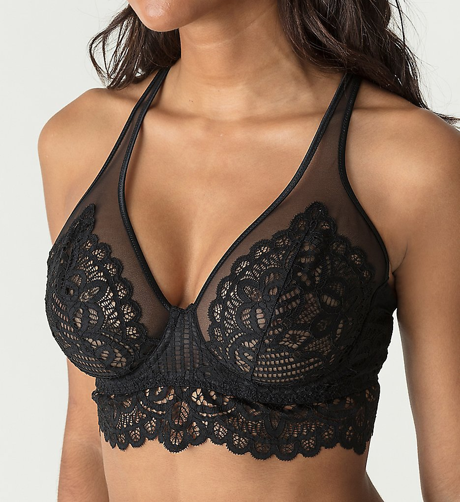 Prima Donna - Prima Donna 014-1886 First Night Triangle Bra (Black 34C)