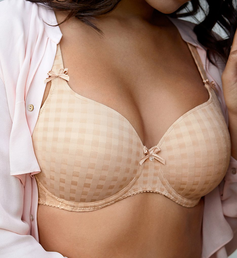Prima Donna - Prima Donna 026-2120 Madison Contour Heart Shaped Bra (Caffe Latte 34D)