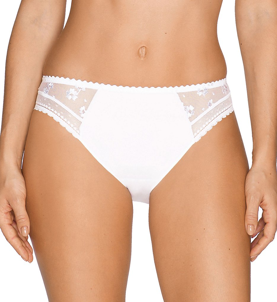 Prima Donna - Prima Donna 056-2870 Ray of Light Rio Bikini Panty (White S)