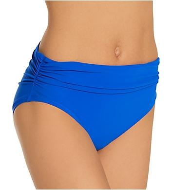 Profile by Gottex Tutti Frutti Shirred Mid Rise Swim Bottom