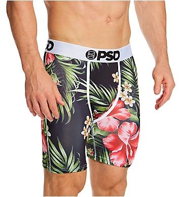 PSD Underwear Hawaiian Flowers Boxer Brief