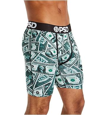 PSD Underwear Singles Dollar Print Boxer Brief