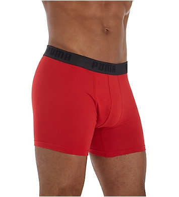 Puma Cotton Stretch Performance Boxer Brief - 3 Pack