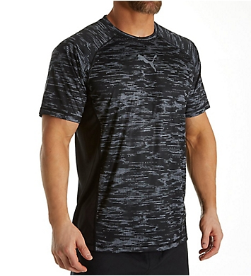 Puma Vent Short Sleeve Graphic T-Shirt