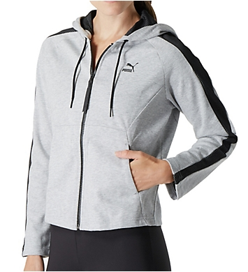 Puma Mesh Hooded Track Jacket
