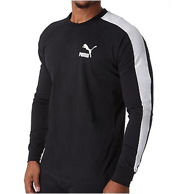 Puma Classic T7 Long Sleeve Logo T-Shirt