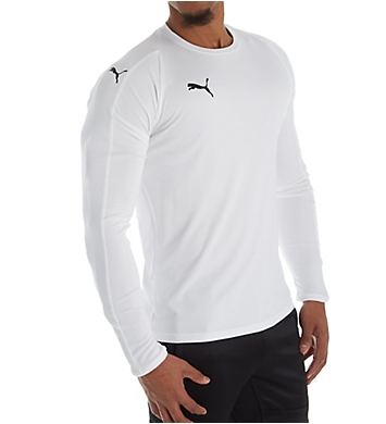 Puma LIGA Core Long Sleeve Performance Jersey T-Shirt