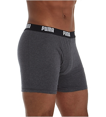 Puma Core Performance 100% Cotton Boxer Briefs - 3 Pack