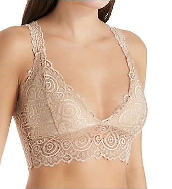 Pure Style Girlfriends Lace Bralette with Removable Padding