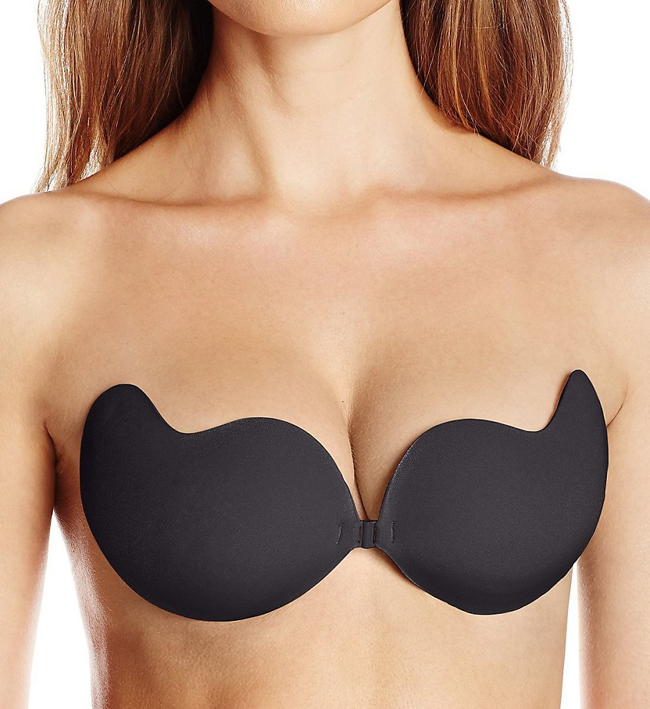 Pure Style Girlfriends - Pure Style Girlfriends 91841 Enchantress Cleavage Enhancements Adhesive Bra (Black C)