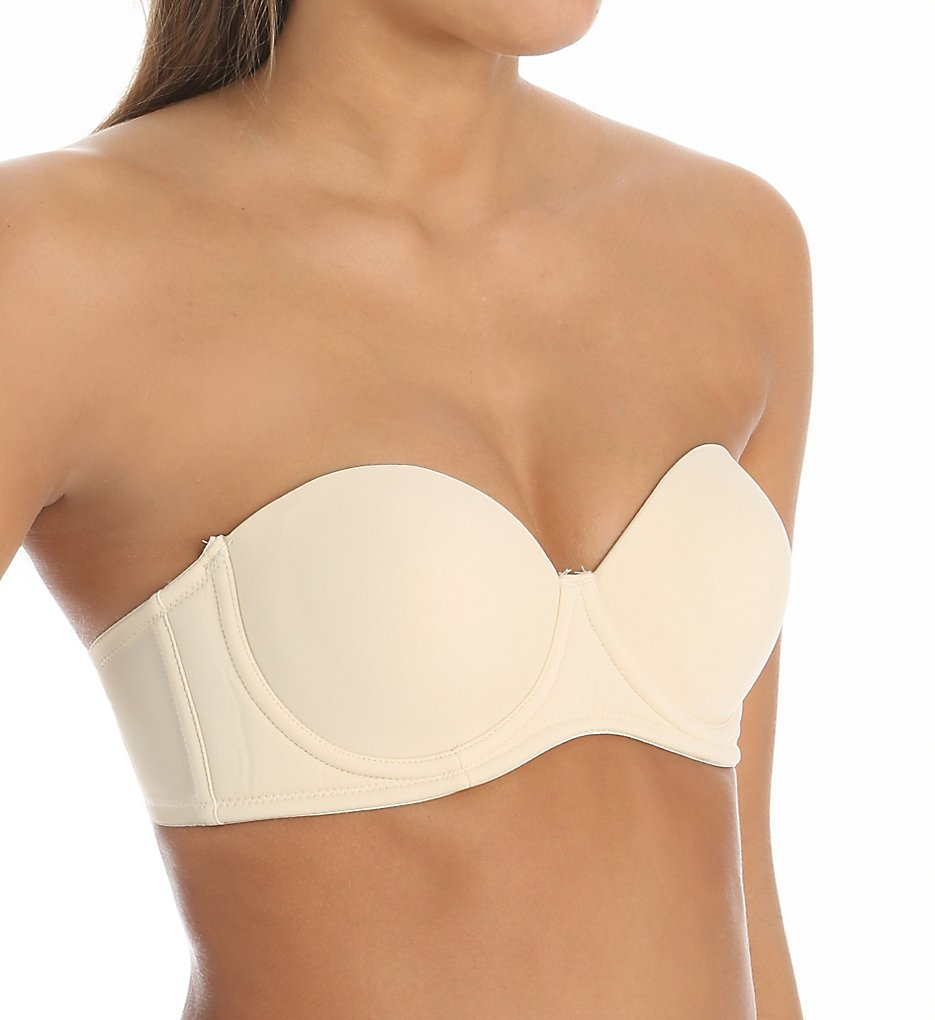 QT 1103 Seamless Molded Cup 5 Way Convertible Bra (Nude)