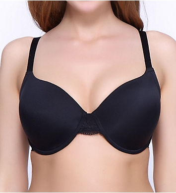 QT Molded Micro Cup Lace Trim Bra