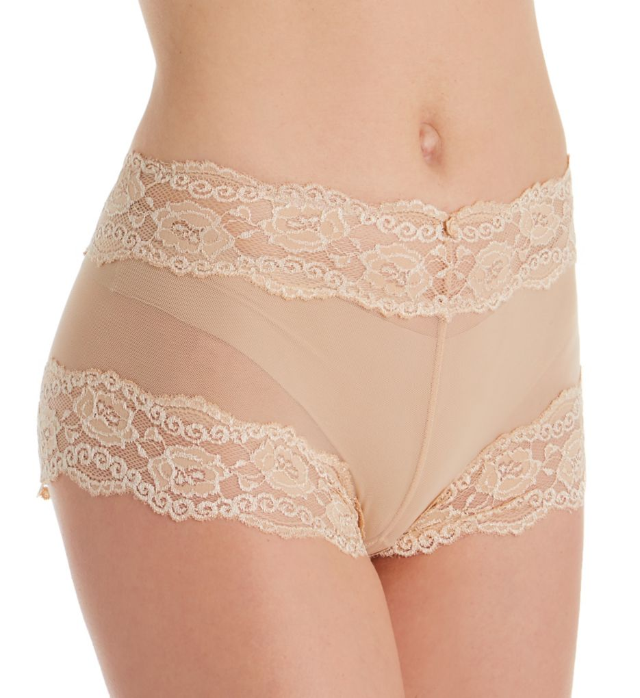 QT All Over Lace Boyshort Panty