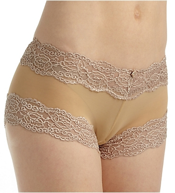 QT All Over Lace Boyshort Panty - 2 Pack