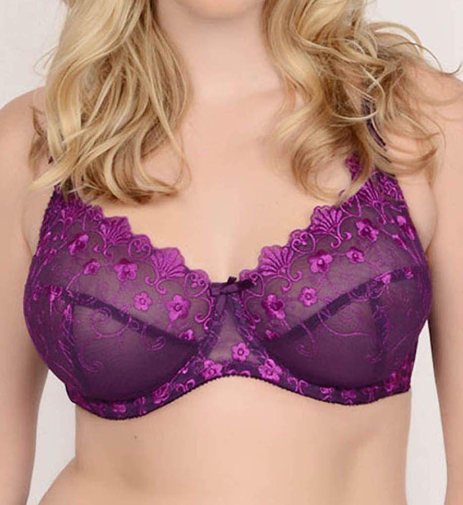 QT Eva Embroidered Lace Bra
