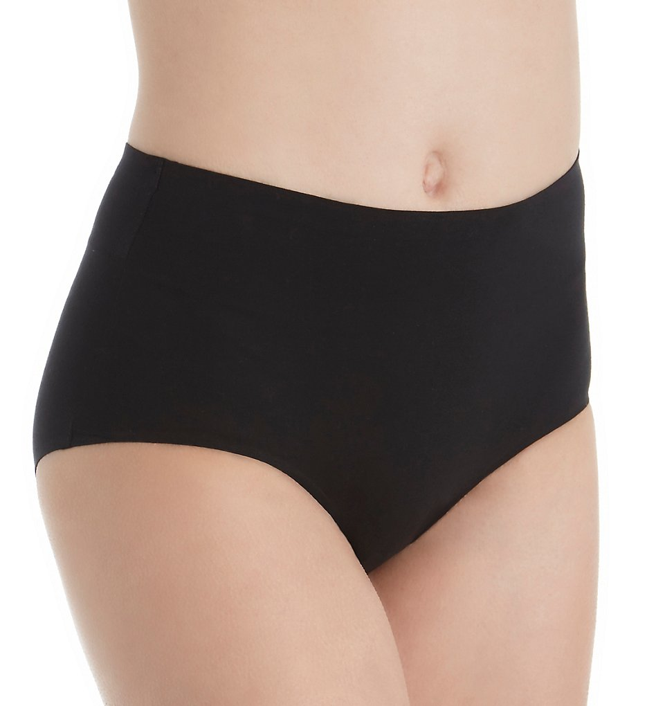 QT (2201538) -- QT E4077 Cotton Bonded Panty (Black S)