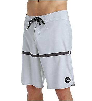 Quiksilver Stripe Scallop 4-Way Stretch 20 Inch Boardshorts