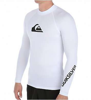 Quiksilver All Time Long Sleeve Surf Shirt Rash Guard